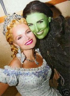 Kristin and Idina
