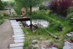 Garten L, Pfösing | Landschaftsarchitektur Schmidt Rennhofer Schmidt, Stepping Stones, Outdoor Decor, Home, Landscape Diagram, Stair Risers, Ad Home, Homes, Haus