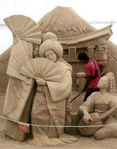 Arte en arena | Quiero más diseño