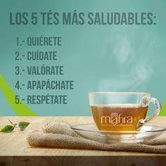 Dicen que, si combinas los 5, se crea la mezcla perfecta para una salud de 10. ☕ ☺