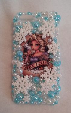 FROZEN Elsa ICE COLD iPhone Samsung Case Note 2 by ExpressiveCases Bling Phone Cases, Disney Phone Cases, Iphone 6 Plus Case, Diy Phone Case, Iphone Phone Cases, Samsung Cases, Phone Cover, Decoden Phone Case, Mirror Crafts