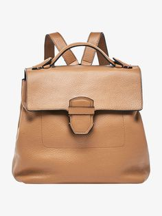 Autumn Spring summer 2017 Women´s EMBOSSED TAILORED LEATHER BACKPACK at Massimo Dutti for 220. Effortless elegance!