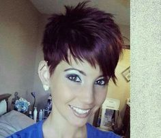 Cute short pixie!