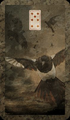 LEGEND OF THE WIZARD LAIRD  Lenormand