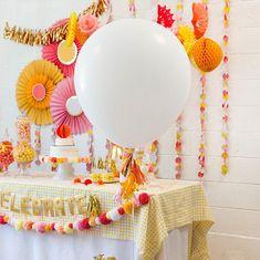 Giant White Balloon Giant 36 Balloon Wedding Balloons #babyshower #party #balloons