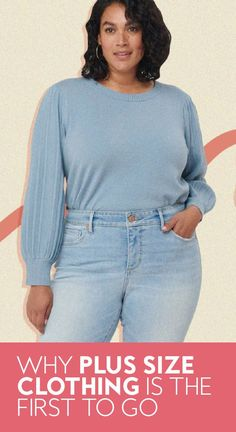 """Last week, LOFT announced it was cutting its plus offerings due to """"business challenges,"""" and it's not the first brand to do so.#plussizeclothing #fashion Plus Size Inspiration, Plus Size Looks, City Chic, The One, Plus Size Outfits, Plus Size Fashion, Fashion Photography, To Go, Loft"""