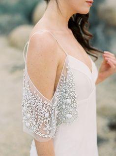 Embellished sleeves