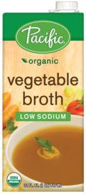 Organic Vegetable Broth Low Sodium