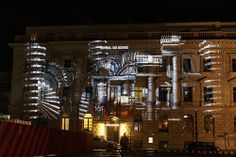 Hotel de Rome @ Berlin FESTIVAL OF LIGHTS 2010. 3D Videomapping by Panirama & Friends (c) Festival of Lights / Marius Schwarz#FestivalofLights #Berlin #HoteldeRome #3DVideoMapping