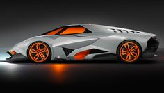 To mark its 50th anniversary, Lamborghini unveiled an outrageous one-off concept called the Egoista.
