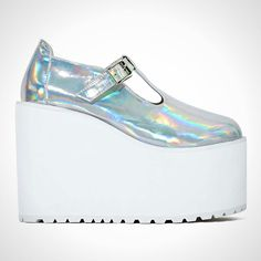 384227aa800b Cool or Crazy  Would You Rock These 20 Spice Girls-Level Platform Shoes   via Brit Co