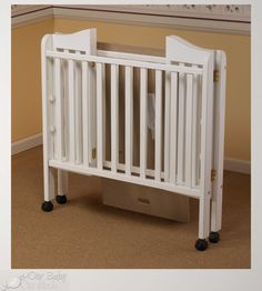 Babyletto Origami Mini Crib In White Buybuy BABY. Best Portable Cribs Beds For Babies And Toddlers All . Home and Family Baby Gate For Stairs, Barn Door Baby Gate, Bench Cushions Outdoor, Cribs For Small Spaces, Best Baby Cribs, Desk In Living Room, Modern Crib, Upholstery Fabric For Chairs, Portable Crib
