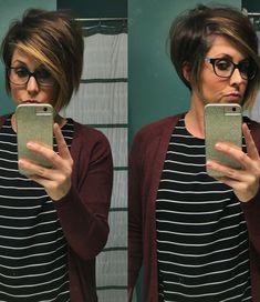¡15 peinados asimétricos con un efecto Wow! - Cortes De Pelo!