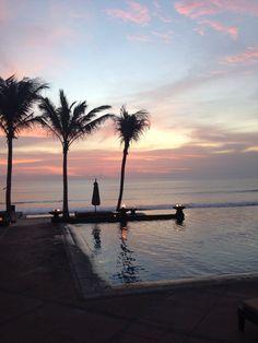 Sunset at The Legian, Bali