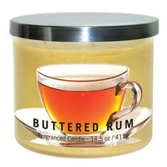 Buttered Rum Candle Jar - This candle will always have a place in my house! Best smelling candle ever!!