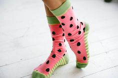 These watermelon seeds will sprout into the cutest socks your face has ever seen. Whether you are wandering in a patch full of juicy watermelon goodness or drea