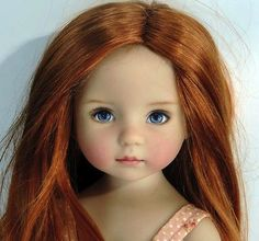 "Little Darling Studio Doll 13"" Dianna Effner Sculpt #1 Painted Dianna Effner NIB"