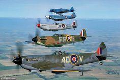 Beautiful Spitfires
