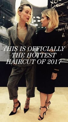 """This Is Officially the Hottest Haircut of 2017: If you're the type who tries to grow out her hair but are constantly tempted by cute, short 'dos, look away. Olivia Wilde just chopped her locks, and it's totally something that will have you sitting in a salon chair in no time. Short, shaggy, this cut looks good on everyone—and there are plenty of stars to serve as proof. Click through to see more lobs that have us crowning this the """"it"""" hair look of 2017. 