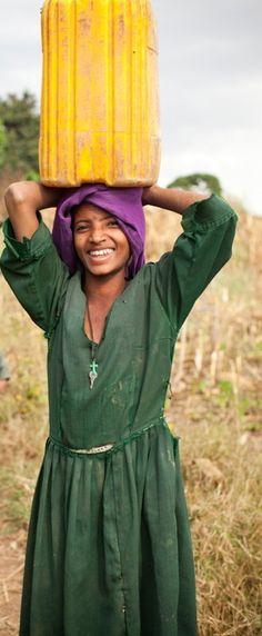 Africa: Amhara Christian woman, Ethiopia