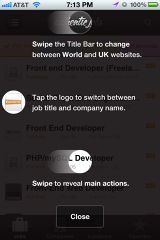Mobile UI Patterns | Recently Added