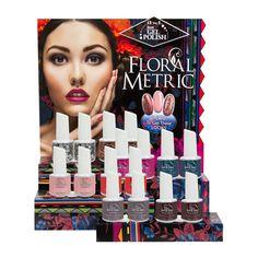 NEW! ibd Floralmetric Nail Lacquer http://www.beautyfactorynails.com/en/ibd-floralmetric-nail-lacquer/g135/p7113/