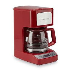 Kenmore 5-cup  Digital Red Coffee Maker with  24-hour programmable controls