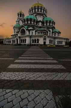 Alexander Nevsky Cathedral, Sofia, Bulgaria.. #travel #europe #richardjames