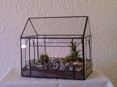 Green House (3mm clear glass). 25-panel greenhouse . Product Code:- TerraGH01. (POA) Mosaic Glass, Fused Glass, Clear Glass, Stained Glass, Glass Conservatory, Flower Holder, Glass Terrarium, Glass Boxes, Vases