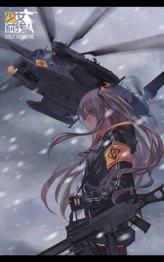 Anime, Military, Girl