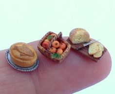 1/48th scale tudor food by Signe on Etsy!