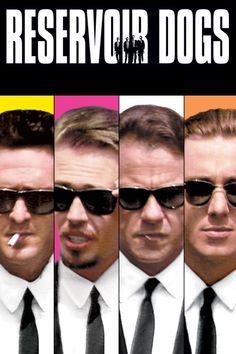Reservoir Dogs Movie Poster - Harvey Keitel, Steve Buscemi, Tim Roth  #ReservoirDogs, #MoviePoster, #ActionAdventure, #QuentinTarantino, #HarveyKeitel, #SteveBuscemi, #TimRoth