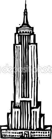 Vector Illustration of Empire State Building — Stock Illustration #31114991