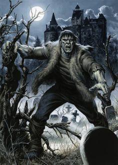 Frankenstein's Monster by Joe Jusko
