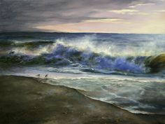 Ocean's Edge by Ralph Grady James Oil ~ 18 x 24