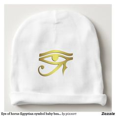 Eye of horus Egyptian symbol baby beanie