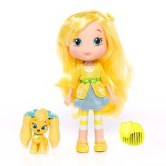 """Strawberry Shortcake 6 inch Fashion Doll with Pet - Lemon with Henna - The Bridge Direct - Toys """"R"""" Us"""