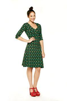 Tante Betsy Dress Tweety Black