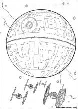 Free Star Wars printables (coloring sheets) - @BethAnne Dunphy I think Emma would love these!