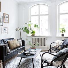 blog decoración, decoración nórdica, decoración salones, estilo nórdico escandinavo, sofa de cuero, sofas de piel, sofas nordicos