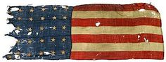 flag remnant from the USS Constitution