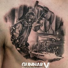 "@gunnar_v_tattoo_artist's photo: ""The blacksmith tattoo i did last week :) -done with Quantum Tattoo ink #quantumtattooink #norge #norway #oslo #norwaytattoo #tattoo #tattoos #inkfreakz #realismtattoo #tattooartmagazine #tattooistartmag #theartoftattooing #realistictattoo #blackandgreytattoo #tattooculturemagazine #bnginksociety #inkedmag #tattooartistmagazine #cooltattoos #tattoos_alday #thebesttattooartists #featuredink #norwegiantattooers #tattuagem"""