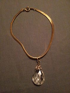 Gold Chain Bracelet by SustainableJewellry on Etsy
