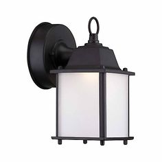 Hampton Bay LED outdoor wall lanterns use 70% less electricity than traditional incandescent fixtures, and there is no bulb to replace or recycle. The LED light source is the most reliable outdoor lighting available because it turns on instantly in any temperature, and lasts 50,000 hours without replacement. These fixtures are built with cast aluminum and steel to look great for years to come. They are easy to install and are suitable for use in wet locations. This 5 in. square wall lantern…