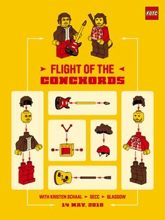 flight of the conchords poster - Google Search