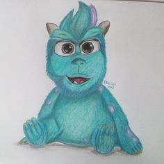 Little Sully from Monsters s.r.o.