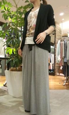 cute long skirt!! u can buy at tite in the store in ebisu, Japan