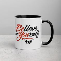 Accessories Archives - WarriorGrrrls Morning Hugs, Morning Coffee, Shopping Quotes, Mug Rack, Ceramic Mugs, Believe In You, Spice Things Up, Color Splash, Improve Yourself
