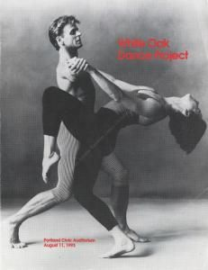 Freedom to Dance: The Mikhail Baryshnikov - White Oak Dance Project. I saw This amazing ballet in Lewiston New York In 1991. It was amazing!