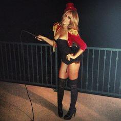 paulina gretzky sexy halloween costume